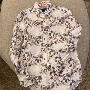 Robert Graham slim fit button up NWT